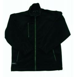 STRONG Fleece-Jacke mit durchgehendem Reissverschluss, …