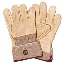 Handschuh aus extra festem Rindnarbenleder, gefüttert, ...
