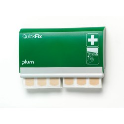 PLUM Quick-Fix Pflasterspender mit 2 Nachfüllpacks mit j…