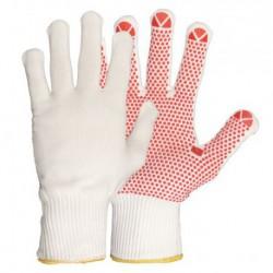 Feinstrick-Handschuh aus Polyamid, benoppt. Futter aus …
