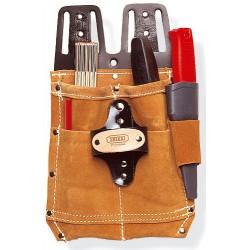 Werkzeugtasche aus Spaltleder, genietet. Für Schreiner, ...