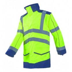 Anfield Regenjacke EN 20471 aus 100% Polyester, 195 g/m²