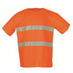 T-Shirt EN 471, 73% Polyester, 27% Viscose, …