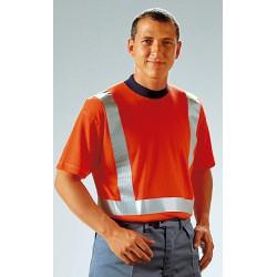 T-Shirt EN 471, 70% Polyester und 30% Baumwolle, elastischer ...