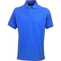 Poloshirt mit Stretch, aus 95% Baumwolle / 5% Elasthan