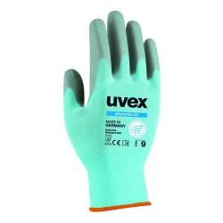UVEX Phynomic Schnittschutz-Handschuh C3 aus Polyamid/Elasthan/HPPE/Glas