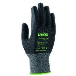 UVEX C300 Foam Schnittschutz-Handschuh aus Bambus-Viskose/HPPE/Glas/Elasthan