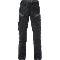 129482 Pantalon de travail avec poches des genoux en 65 % polyester/35 % coton