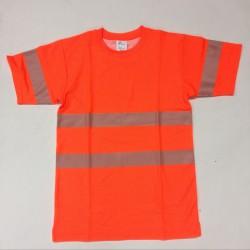 2706 T-Shirt EN 20471 mit Rundhals-Ausschnitt