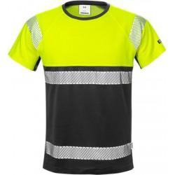 129511 FRISTADS Warnschutz-T-Shirt EN20471