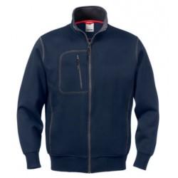 A-Code Sweatshirt mit Reissverschluss