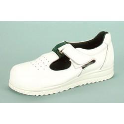 Komfort Flexy-Sandale mit Klettverschluss, aus wasserabweisendem ...