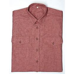 STRONG Hemd, 100% Baumwolle, durchgeknöpft, 2 Brusttaschen. ...