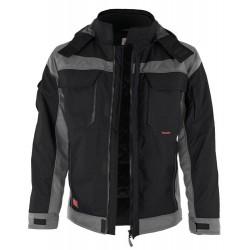 Qualitex Pro Winter-Jacke aus 100% Polyamid, Innenfutte…