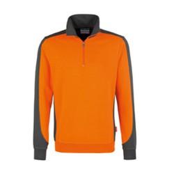 HAKRO Sweatshirt aus 50 % Baumwolle und 50 % Polyester, 300g