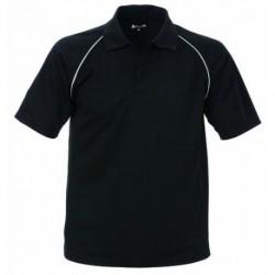 Poloshirt CoolDry kurzarm aus 100% Polyester. Mit 3er-K…