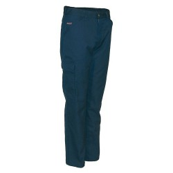 PIONIER Thermo-Canvas-Hose aus 65% Polyester/35% Baumwolle. 2 S…